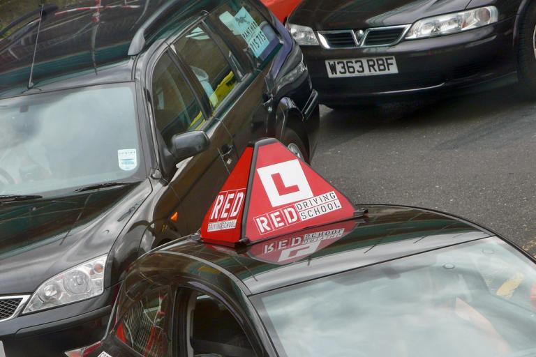 Learner driver - pic credit David J Morgan, Flickr Creative Commons