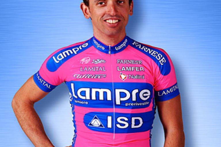 Leonardo Bertagnolli (picture - Lampre-ISD Neri)