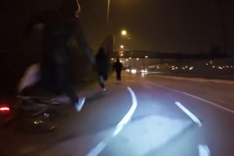 Leyton bikejacking 17 March 2015 YouTube still