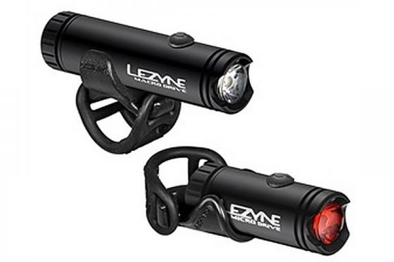 Lezyne's LED Macro Drive Front and Micro Drive Rear