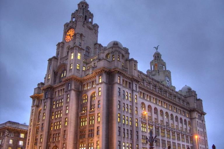 Liverpool's Liver Building (CC licensed by digitalurbanlandscape)
