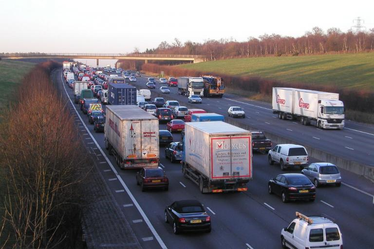 M25 traffic queue (CC licensed by Timo Newton-Syms on Flickr)