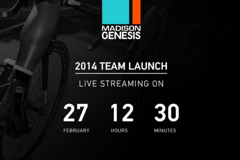 Madison Genesis 2014 team launch