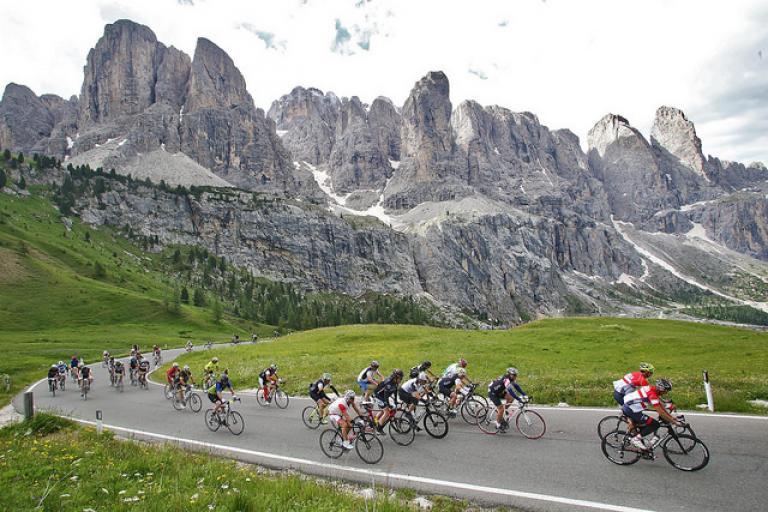 Maratona dles Dolomites (copyright Freddy Planinshek)