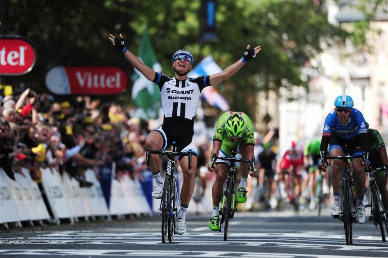 Marcel Kittel wins Stage 1 of the 2014 Tour de France (picture Welcome to Yorkshire)