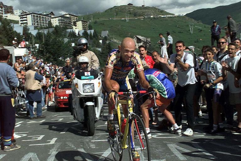 Marco Pantani (Wikimedia Commons:Hein Ciere)