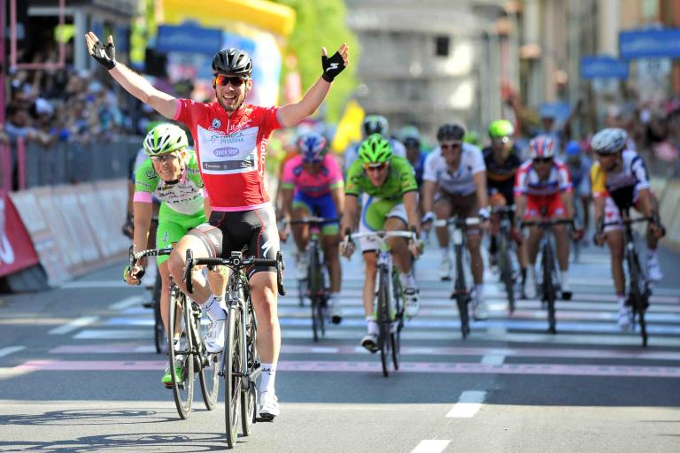 Mark Cavendish wins 2013 Giro d'Italia Stage 21 (picture - RCS Sport)