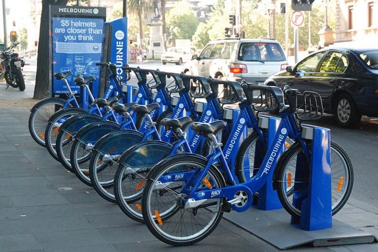Melbourne Bike Share (Papier K, Wikimedia Commons)