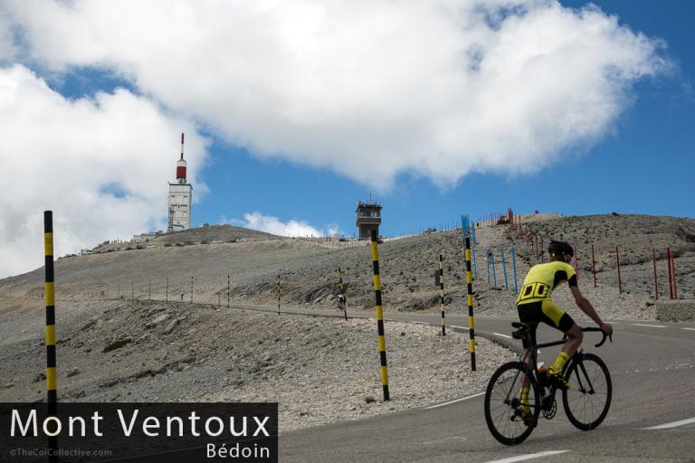Mike Cotty on Mont Ventoux