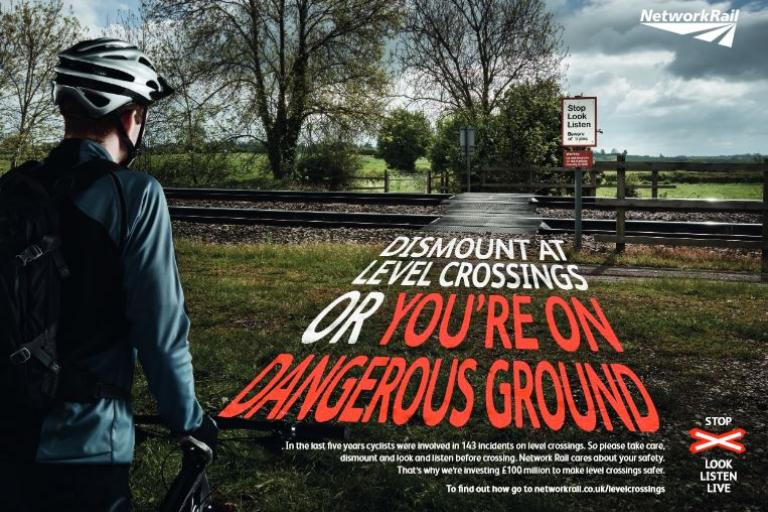 Network Rail level crossing safety campaign 2015 ad 1