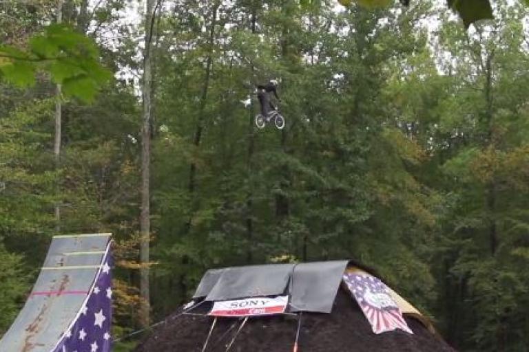 Nitro Circus Triple Front Flip attempt YouTube still