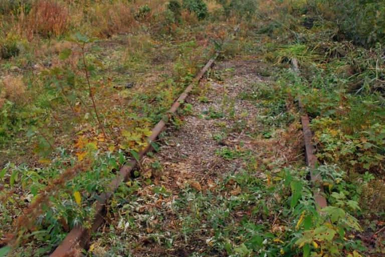 Northampton disused rail line