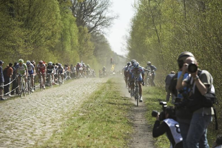 Paris-Roubaix Arenberg Forest 2011 (copyright Camille McMillan)