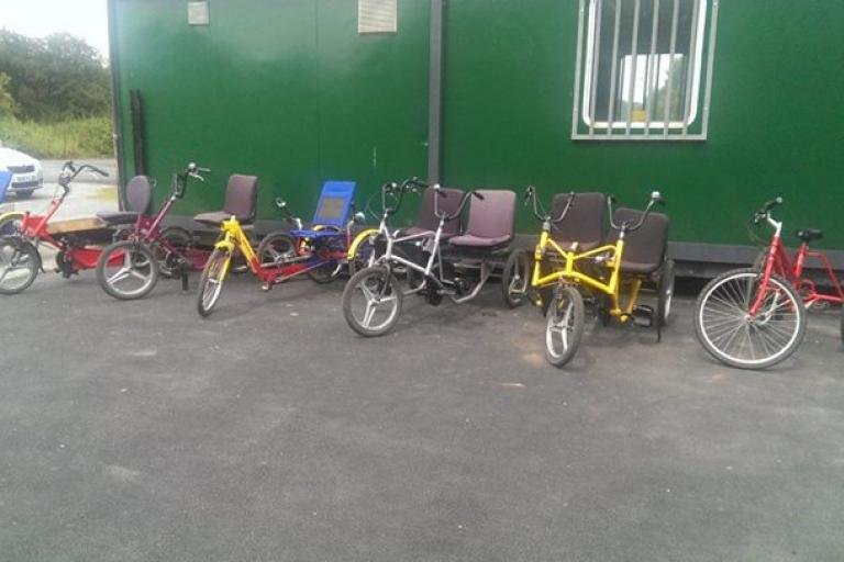 Pedal Power bikes (image from Facebook)