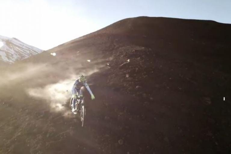 Peter Sagan on Mount Etna YouTube still