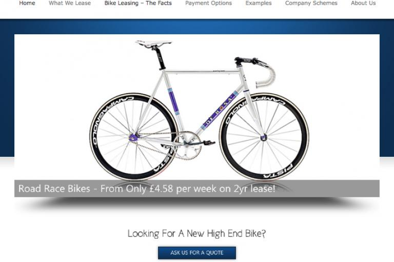 bikeleasingcompany.com new website