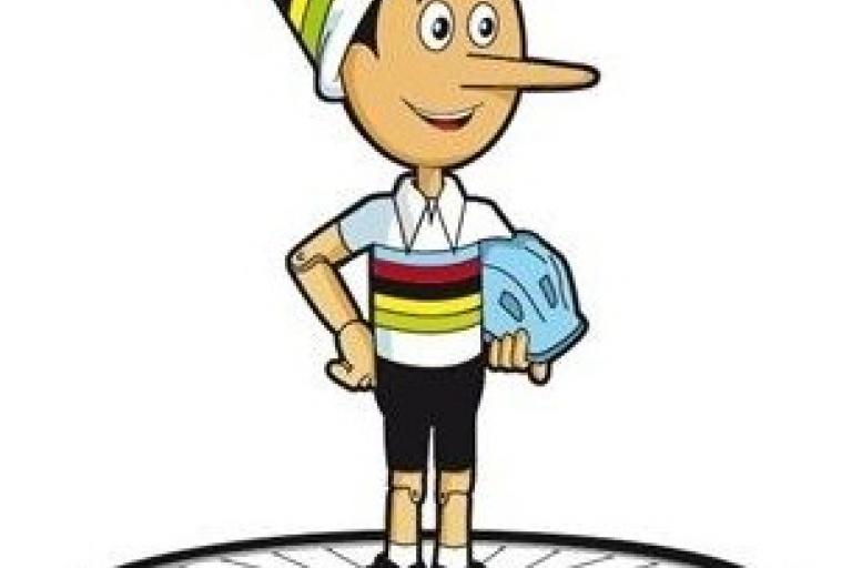 Pinocchio 2013 world championships mascot