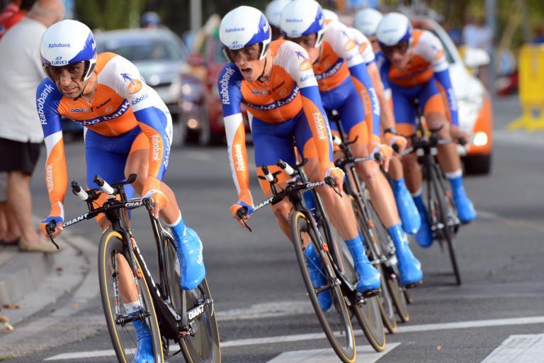 Rabobank in Vuelta 2012 TTT (copyright Unipublic:Graham Watson)