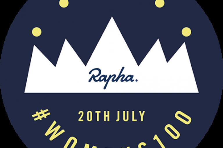 Rapha Womens 100 badge