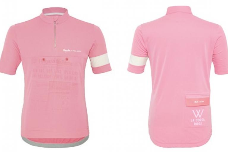 Rapha and Paul Smith Giro jersey