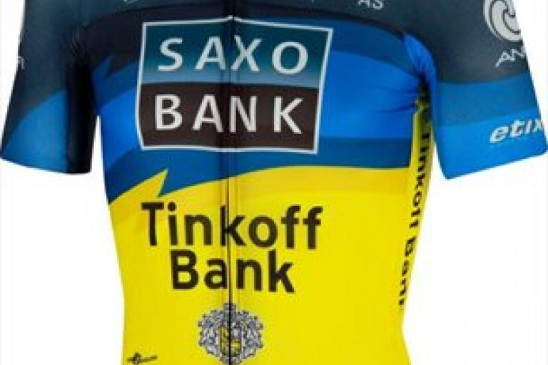 Saxo Bank-Tinkoff Bank jersey