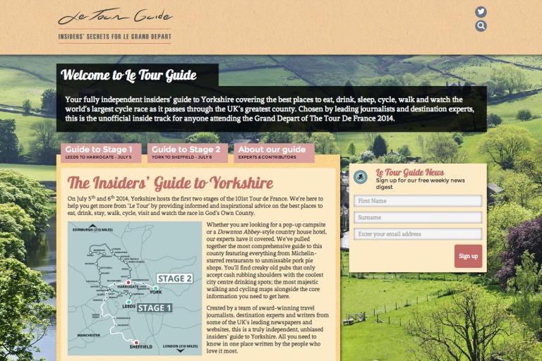 Le Tour Guide
