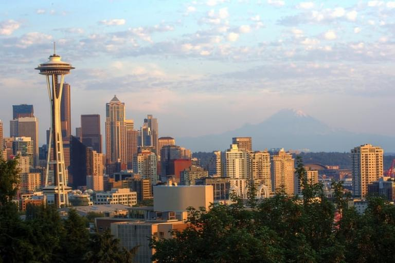 Seattle skyline (CC licensed by Maelick via Flickr)