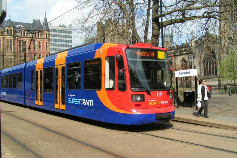Sheffield Supertram (picture copyright Stagecoach Group plc)