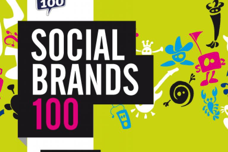 Social Brands 100 logo 2012