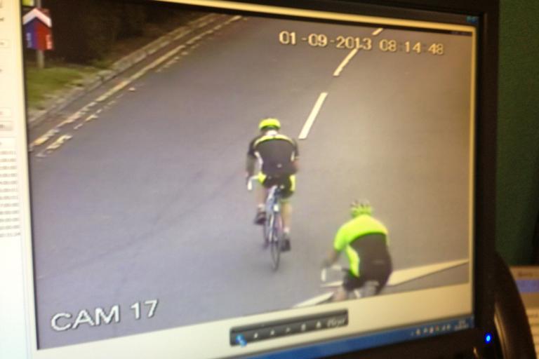 Stolen bikes CCTV