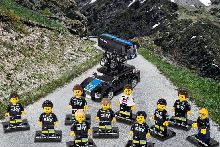 Team Sky Tour de France 2015 - in Lego