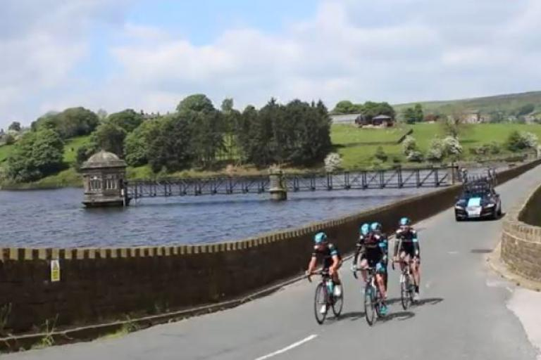 Team Sky Yorkshire Recce YouTube still