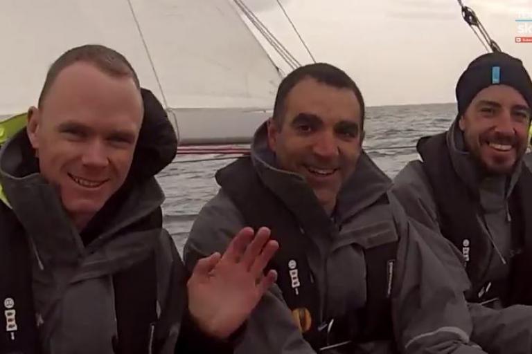 Team Sky sailing day Oct 2014 YouTube still