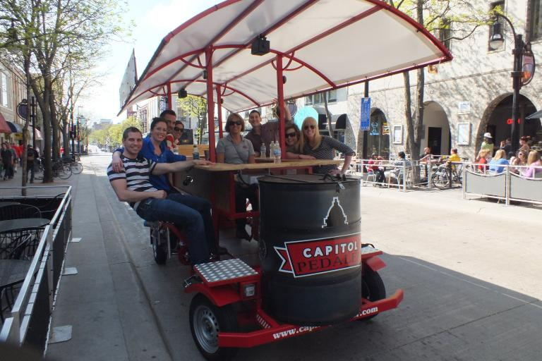 The Capitol Pedaler pedal pub (courtesy Capital Pedaler)