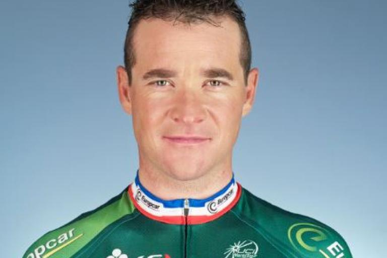 Thomas Voeckler (cropped) (picture credit Leroy Tremblot)