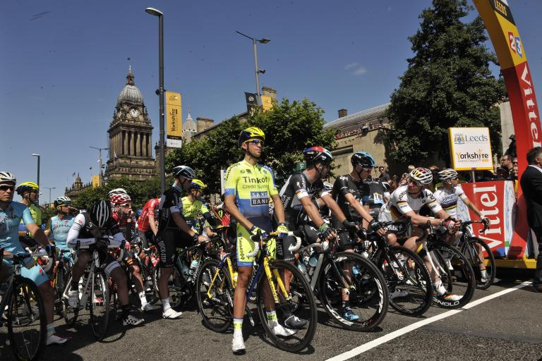 Tour de France Stage 1 Leeds depart 2014 (picture courtesy Welcome to Yorkshire)