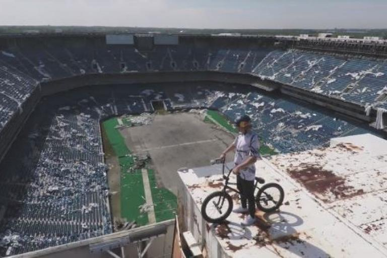 Tyler Fernengel Red Bull Silverdome video YouTube still