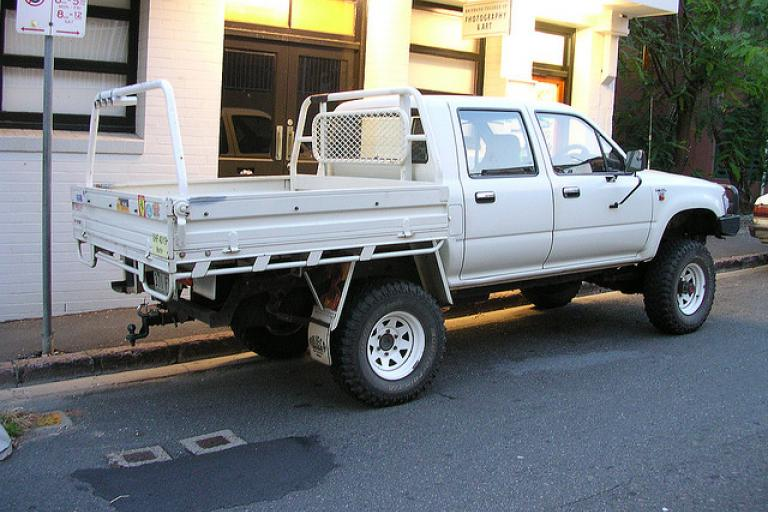 Ute in Brisbane (Flickr CC brewbooks)