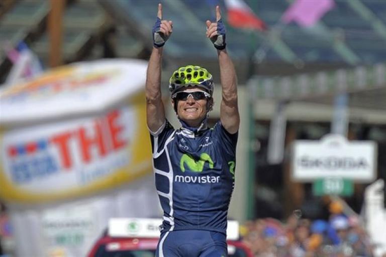 Vasil Kiryienka wins Giro 201 S20 (picture RCS Sport : Gian Mattia D'Alberto : Lapresse)