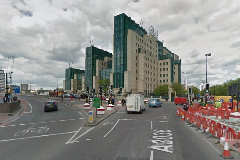 Vauxhall Cross junction (image taken from Google Streetview)