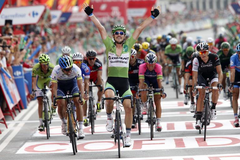 Vuelta 2014 Stage 17, John Degenkolb wins (picture Unipublic, Graham Watson)