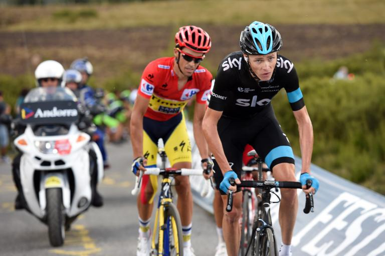 Vuelta 2014 Stage 20 Froome-Contador (pic Unipublic-Graham Watson)