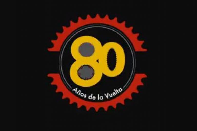 Vuelta 80th anniversary logo