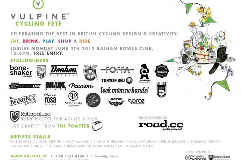 Vulpine Cycling Fete landscape