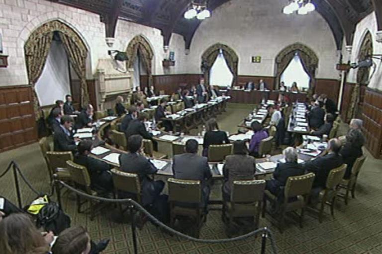 Westminster Hall cycling debate