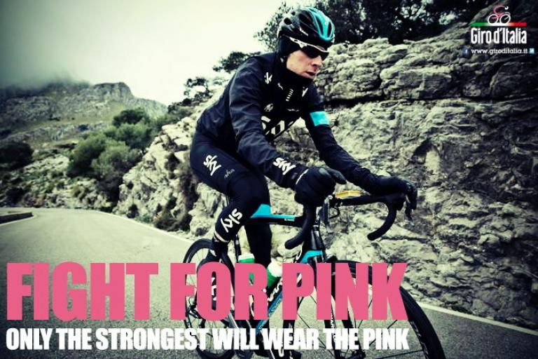 Wiggins Giro Fight For Pink