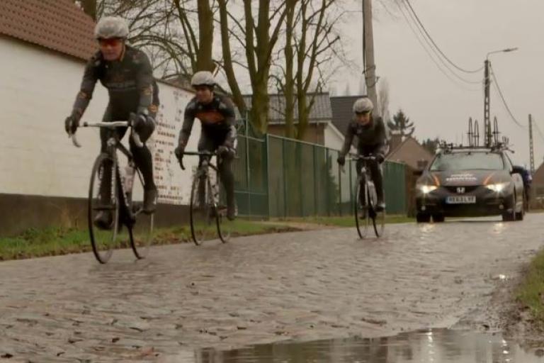 Wiggle Honda 2015 Omloop Het Nieuwsblad 2015 recce YouTube still