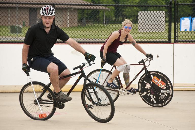 bike polo (CClicensed by tink20seven via Flickr)