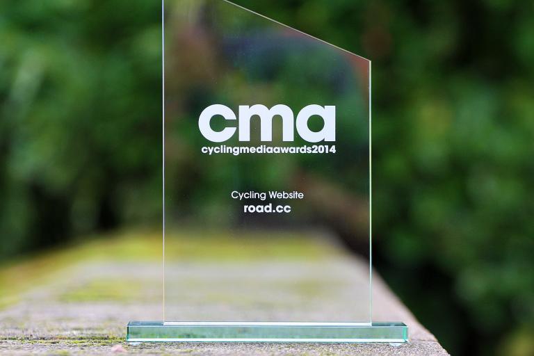 road.cc CMA 2014 award