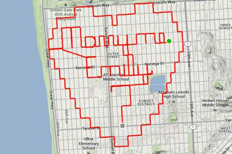 Strava user Murphy's proposal (Image via Strava)